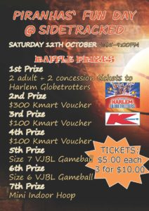 CMBC - Funday raffle prizes