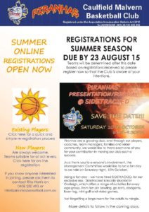 CMBC Newsletter August 2015 front page