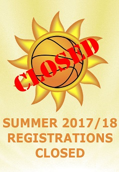 2017-18 Summer Registrations Now Closed